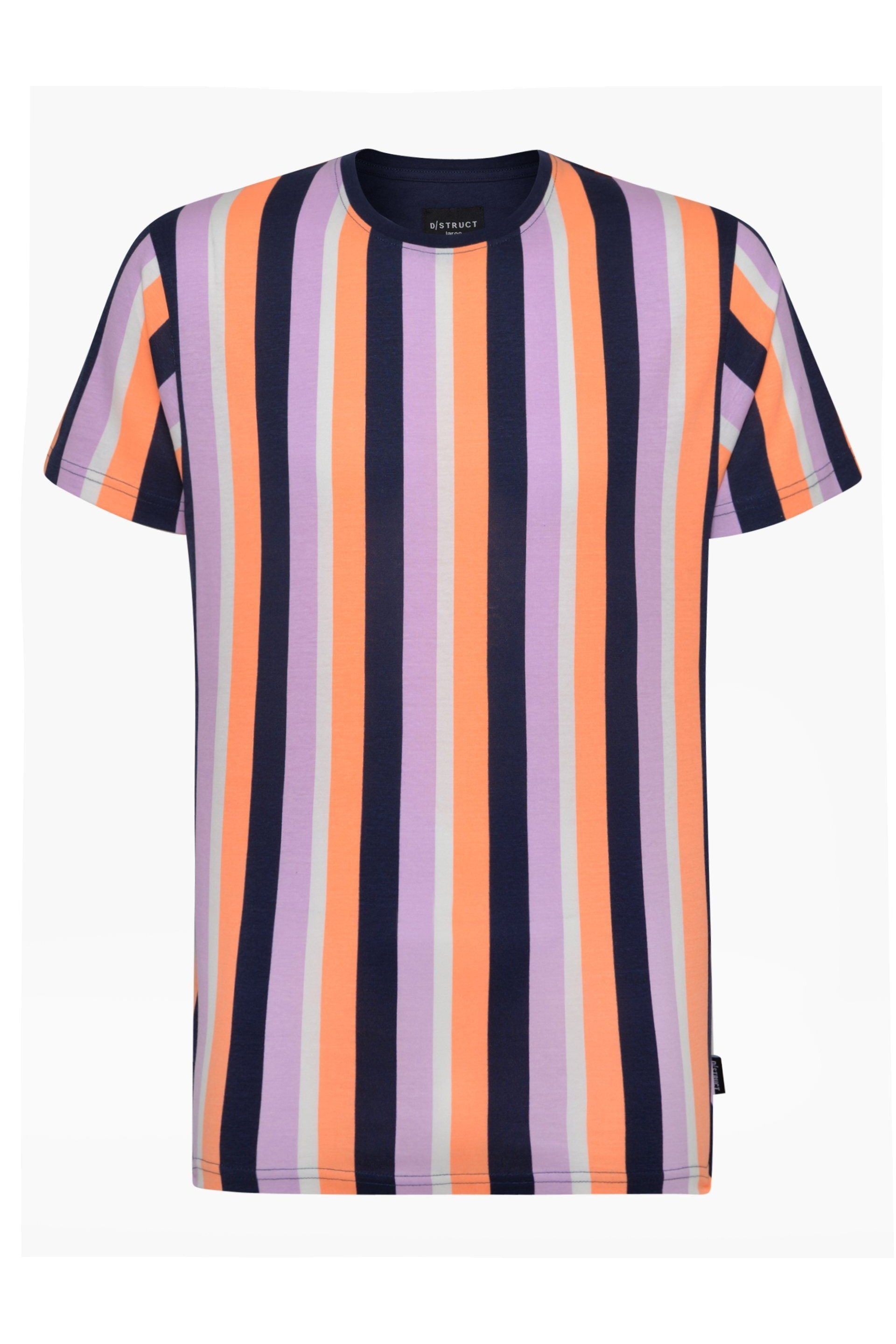 T-Shirts - Vertical Stripe T-Shirt Pastel