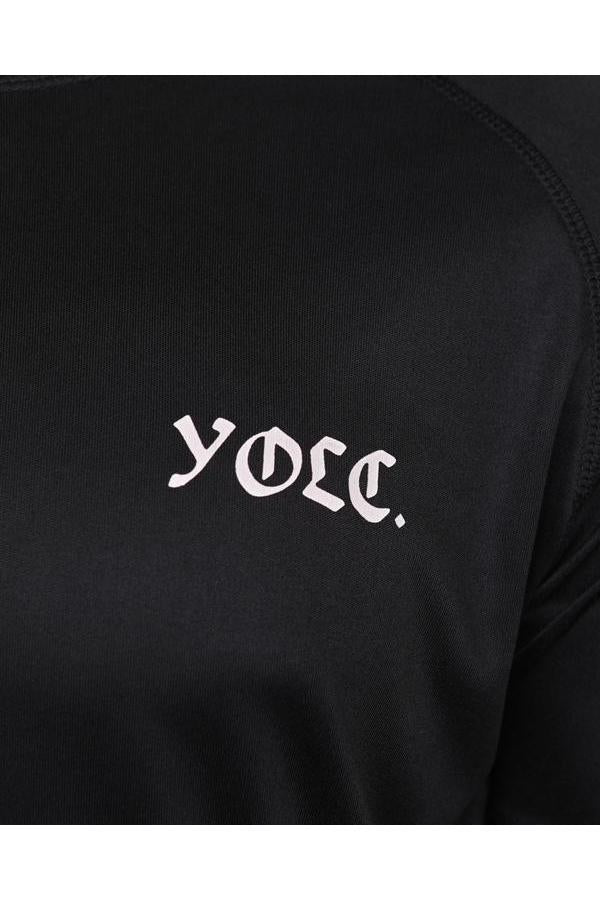 T-Shirts - YOLC. ACTIVE T-Shirt Black