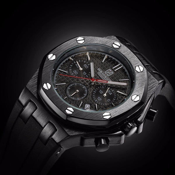 Watches - Bolt Automatic Watch Black
