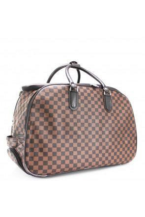 Watches - Carry On Bag Brown Check
