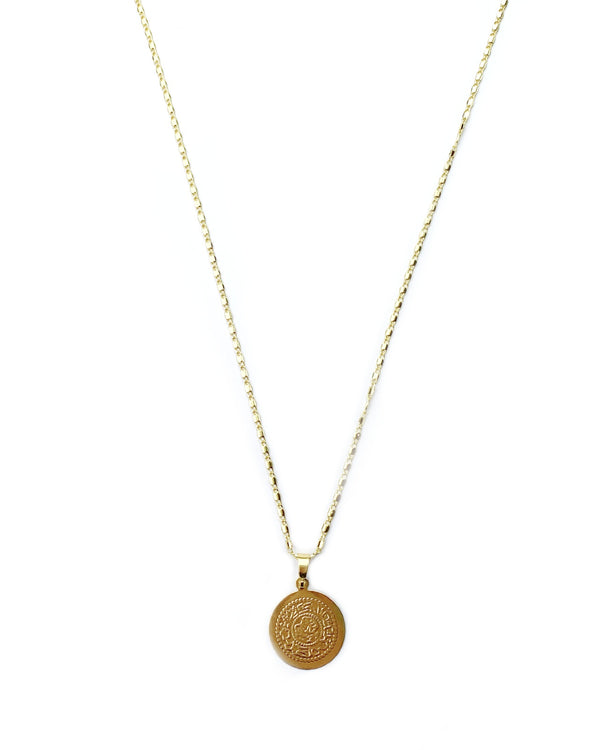 Watches - Coin Gold Pendant