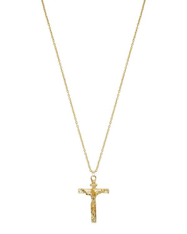 Watches - Crucifix Gold Pendant