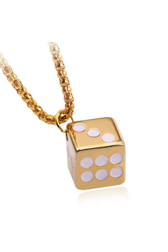 Watches - Dice Gold Pendant