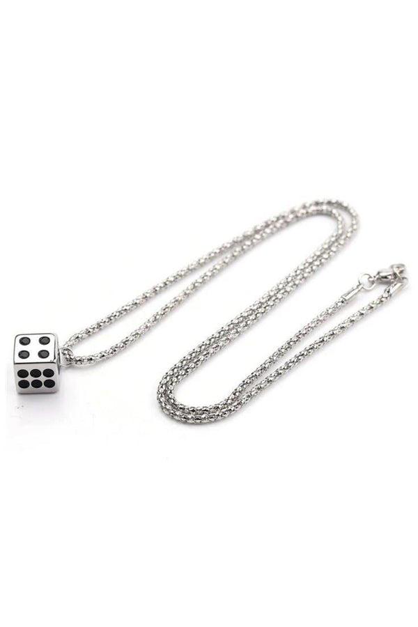 Watches - Dice Silver Pendant