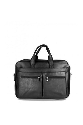 Watches - Double Pocket Briefcase Black