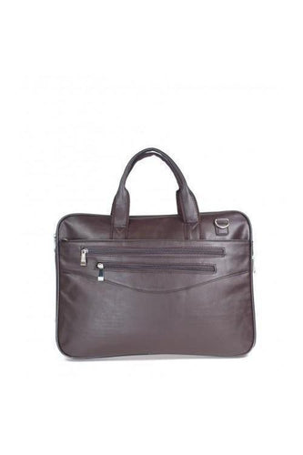 Watches - Double Zip Briefcase Brown