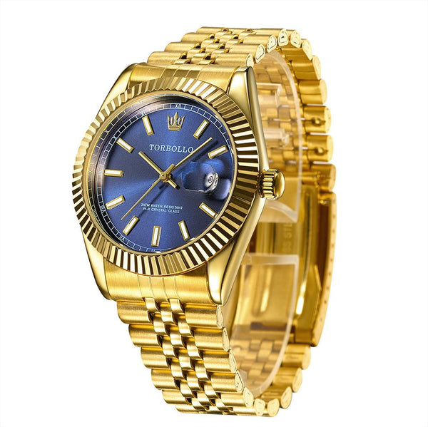 Watches - Oyster Luxury Watch Gold