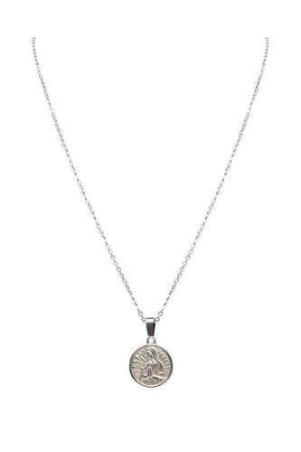 Watches - Pray Coin Silver Pendant