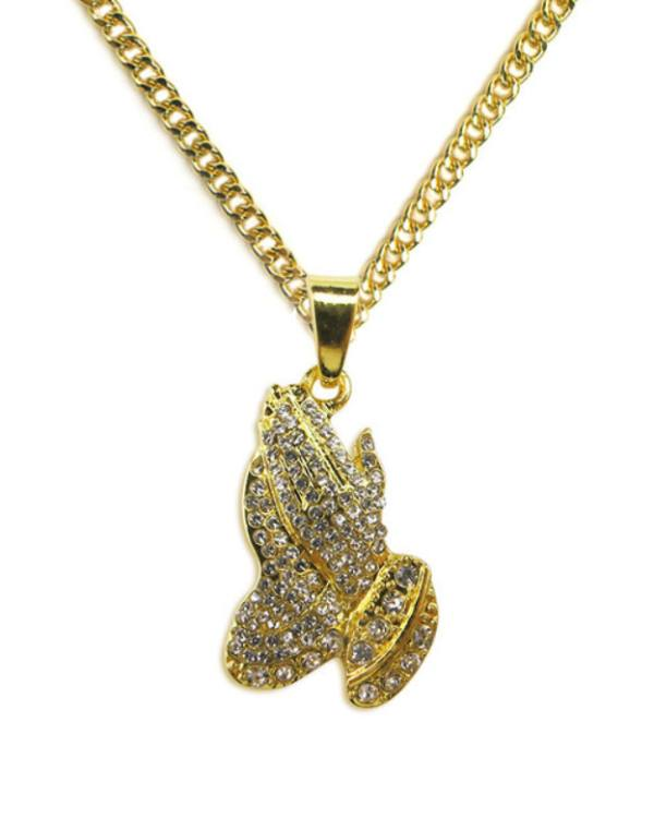 Watches - Pray Gold Pendant