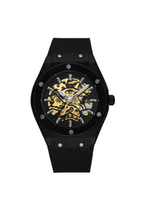 Watches - Skeleton Bolt Automatic Watch Black