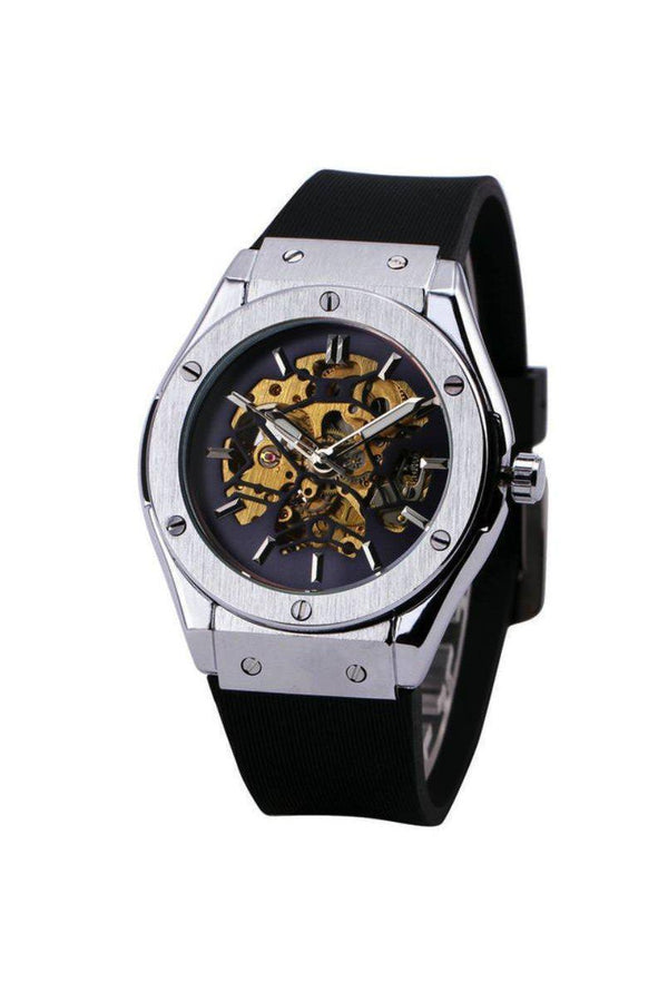 Watches - Skeleton Bolt Automatic Watch Metal