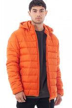 Load image into Gallery viewer, Puffer Jacket Orange