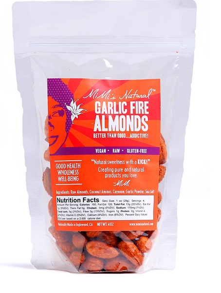 Garlic Fire</br> Almonds
