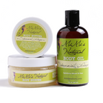 Spearmint Ginger-Body Butter, Body Oil & Body Buffer Combo