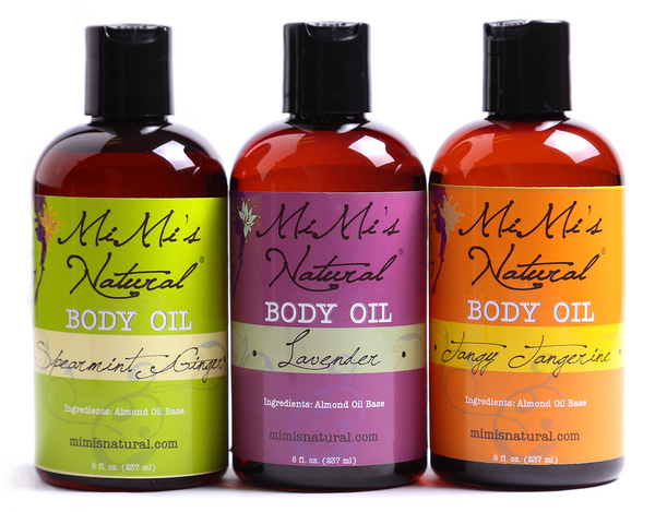 Tri-Pack of 3 </br> Body Oils