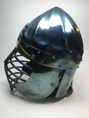 Helmet - Norman Viking/ Fluted / Mild / 14ga