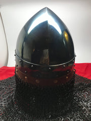Helmet  - Norman Viking / Mild with Aventail / 14ga