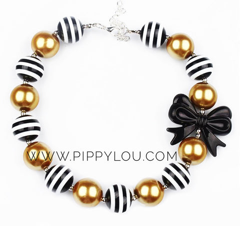 Black & Gold Necklace