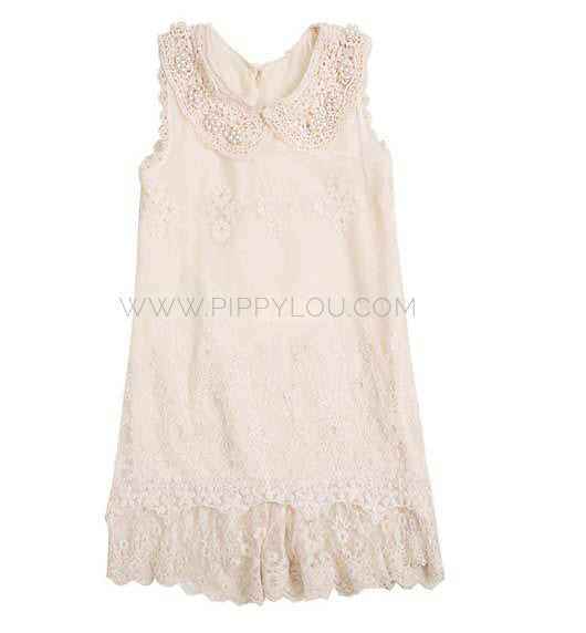 Pearls & Lace Dress