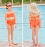 High-waist Citrus Bikini