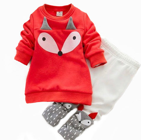 Fox Sweater and Legging Set