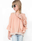 Blush Lace Tunic