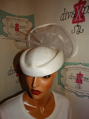 Vintage White High Detail Hat