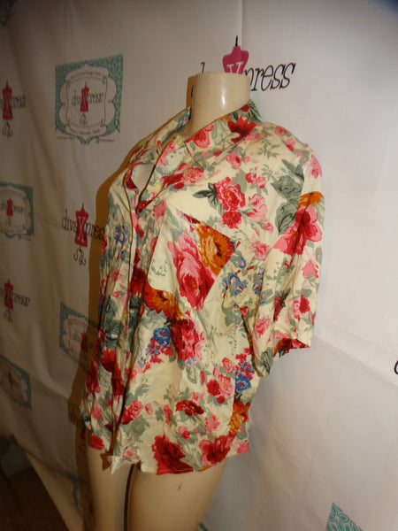Black/White NewsPaper Body Suit Size L