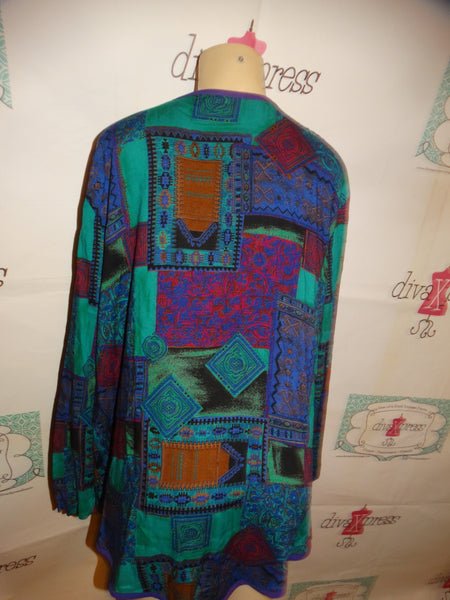 REd/Black/White Polka Dot Dress Size M