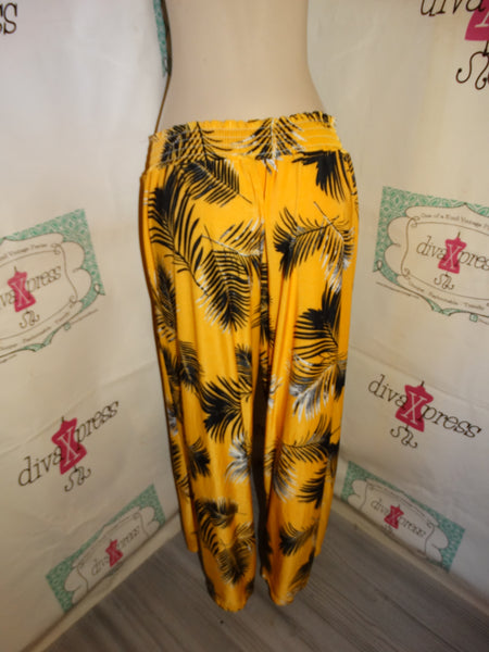 WEst Loop Yellow Black Pants Size XL