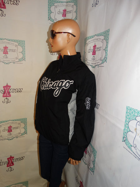 Vintage Majestic Black Chicago Sox Jacket Size S