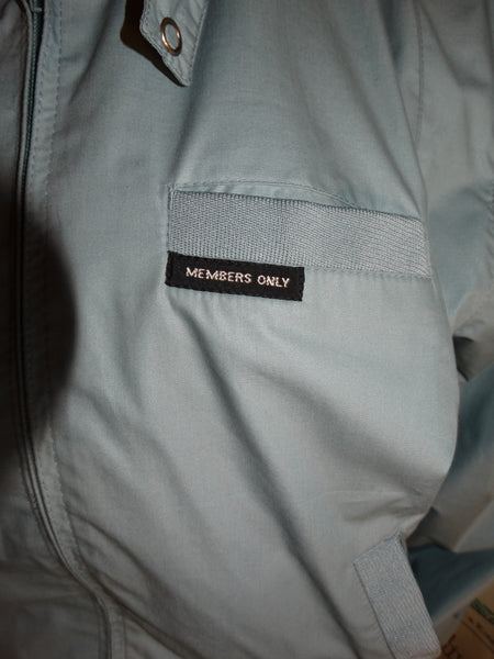 Vintage Members Only Blue Jacket Size M