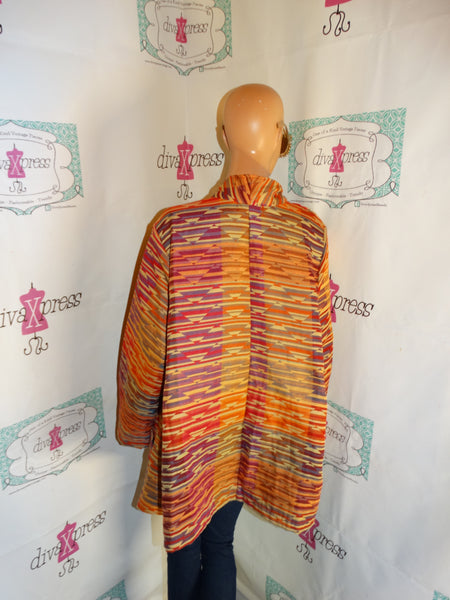 Vintage Maggie Sweet Colorful Throw (Belt/Accessories Not Included) size 3x