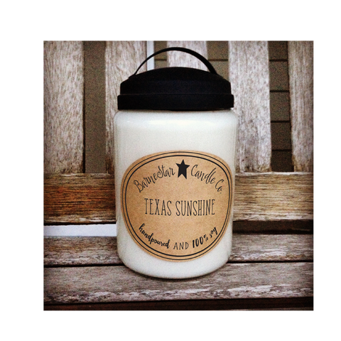 26 oz. Double Wick Soy Candle - Sweet Pea