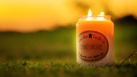 26 oz. Double Wick Soy Candle - Texas Sunshine