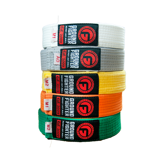 Ground Fighter Jiu-Jitsu Belts (Kids)