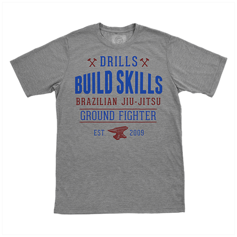 Drills Build Skills Shirt - Grey