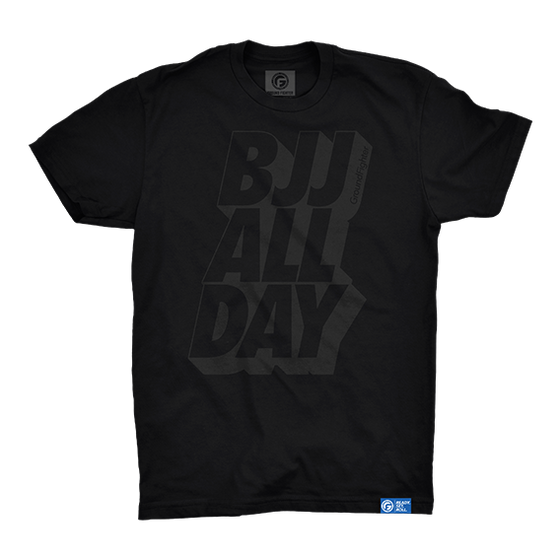 BJJ ALL DAY Shirt - Black