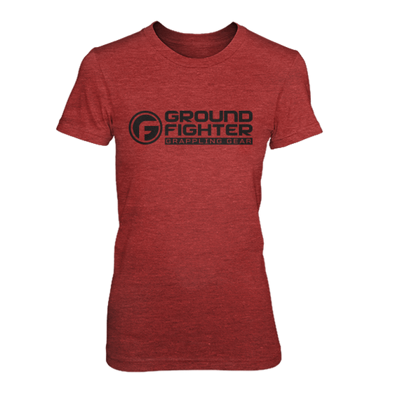 Ground Fighter Logo Tee Womens