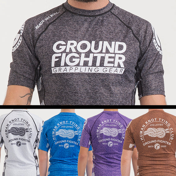 Human Knot Ranked Rash Guards