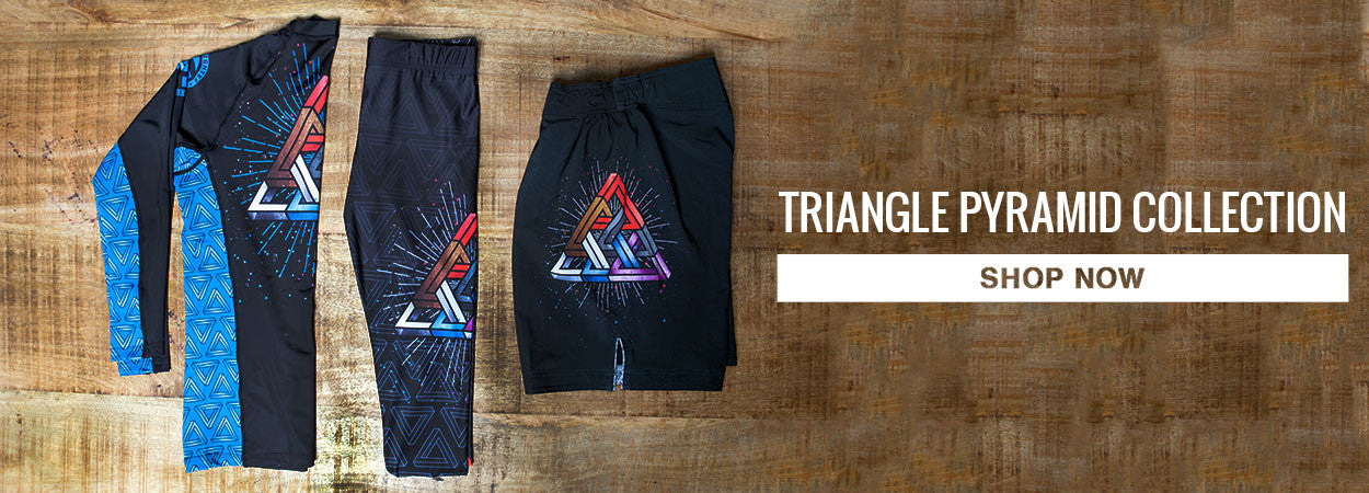 Ground Fighter BJJ Triangle Pyramid Tights