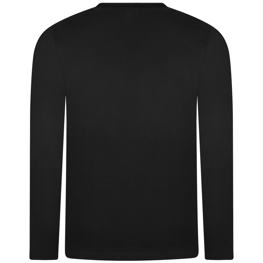 Saucy Stanley Black Longsleeve T-shirt - Cake & Pussy