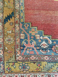 Antique Persian Bijar • 3.11 x 6.0