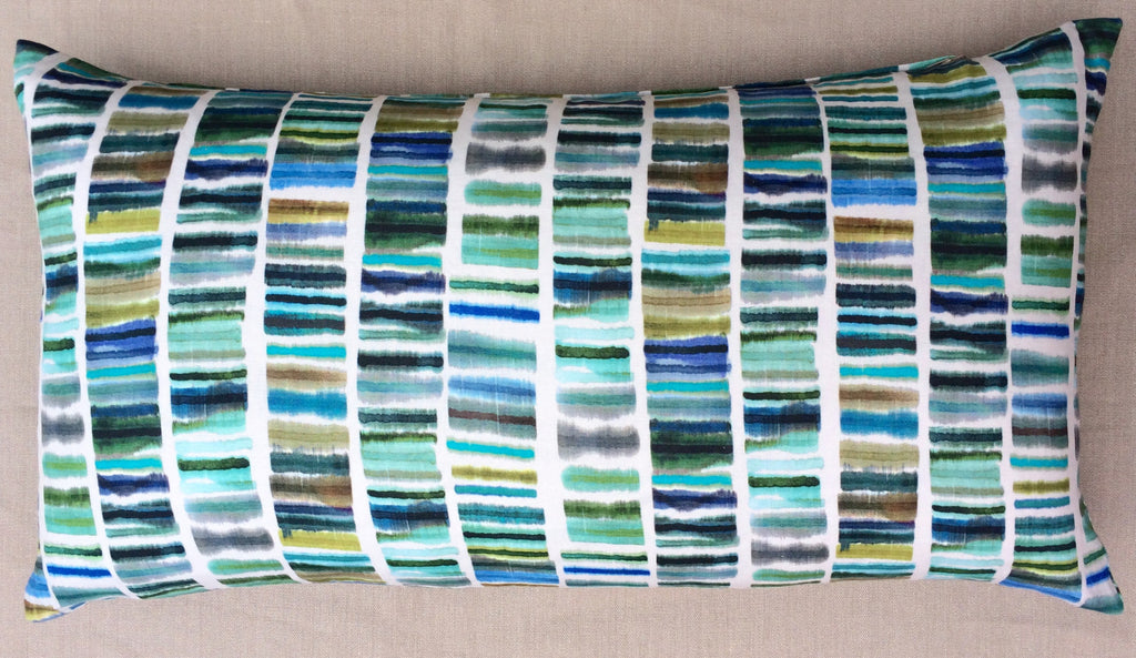 Rectangular Watercolor Pillow