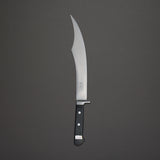 Morihei Hisamoto Vintage Carving Scimitar 290mm Ebony Handle (#3)