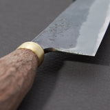 Daitoku Blue #2 Kurouchi Petty 100mm Walnut Handle | Tosho Knife Arts