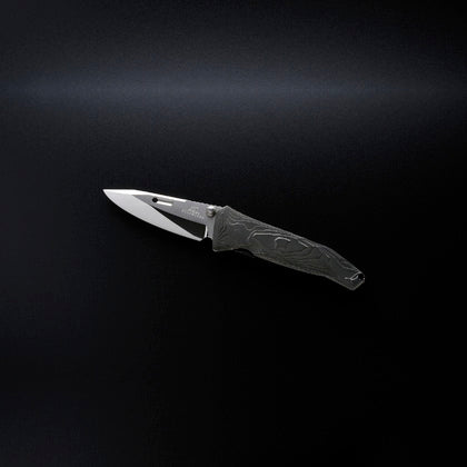Rockstead SAI-ZDP (BK) Folding Knife 80mm Titanium Handle | Tosho Knife Arts