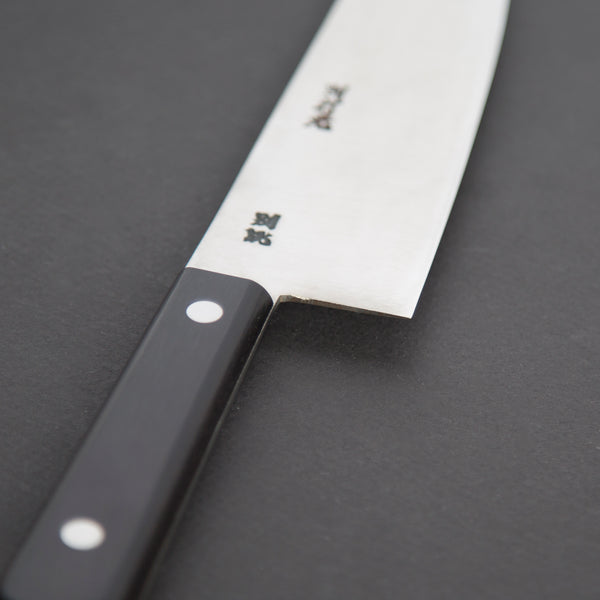 Morihei Hisamoto Vintage Left Handed Gyuto 180mm Pakka Handle | Tosho Knife Arts