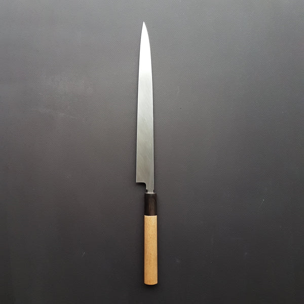 Masamoto Honyaki White Fugubiki 270mm Ho Wood Handle (#2)