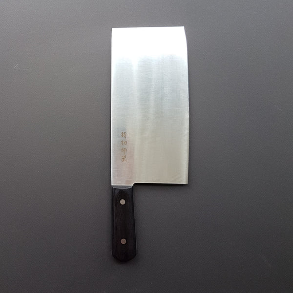 Hitohira Imojiya TH Stainless Chinese Cleaver 220mm Pakka Handle